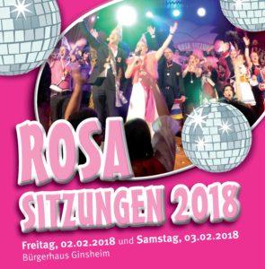 Kartenreservierung Rosa Sitzungen 2018