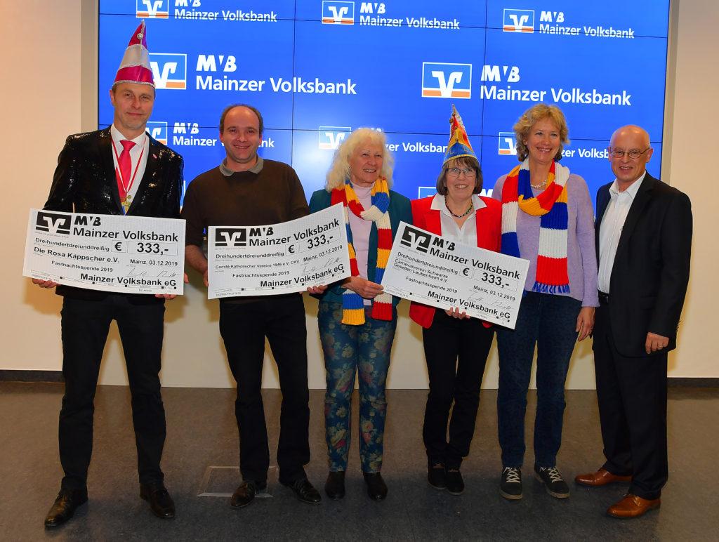 MVB spendet 333 Euro an die Rosa Käppscher e.V.